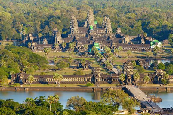 Angkorwat Hindu Temple, Cambodia