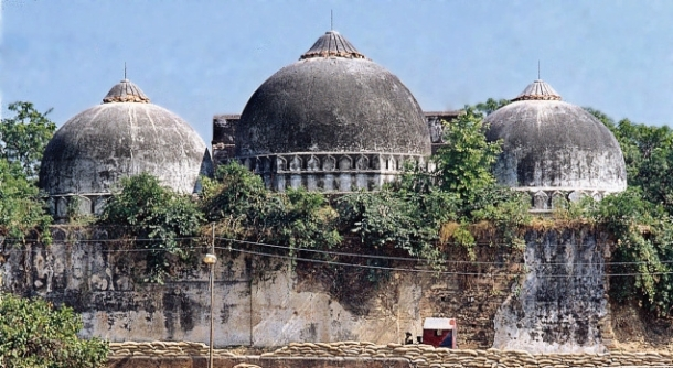 Babri Masjid at Ayodhya - Ram's birth place