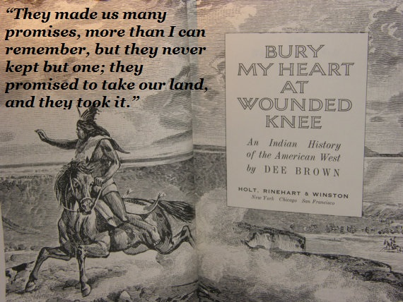 an overview of dee browns book bury my heart at wounded knee As brown shows throughout chapter 1 and the rest of bury my heart at wounded knee, it's nearly always the impetus for indian resistance the american indian's relationship to the land is completely unlike that of their white european counterparts.