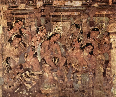 Ellora caves paintings