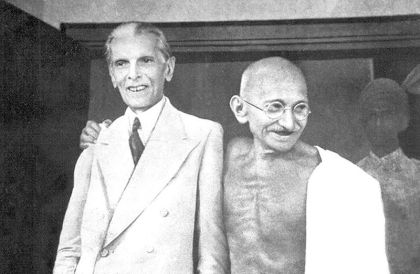 Gandhi & Jinnah 1944