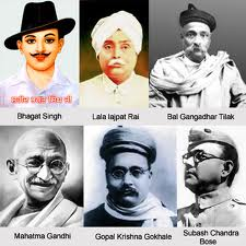 Leaders of Indian Freedom struggle