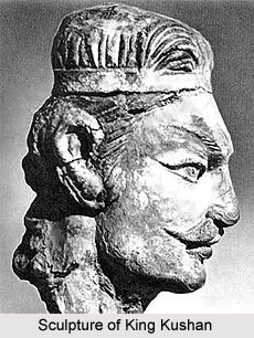 Sculpture of Kushan Emperor Kanishka