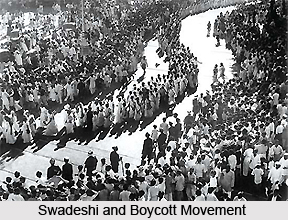 Swadeshi and Boycott Movement against British rule in India