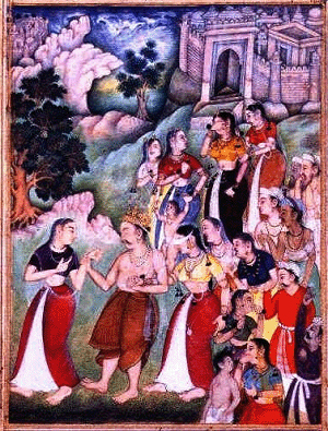 Mahabharata AshramavasikaParva