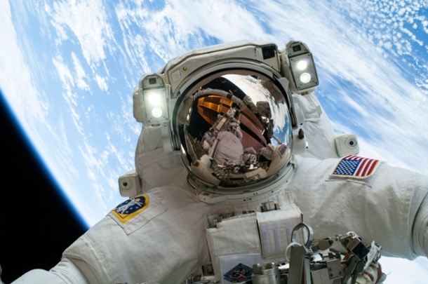 Selfie by Astronaut Mike Hopkins