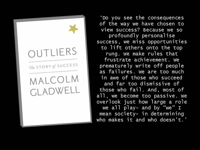 malcolm gladwell the path to success Malcolm gladwell on success entelechy speaks to malcolm gladwell about success page 2 questioning everything you believe about the path to extraordinary.