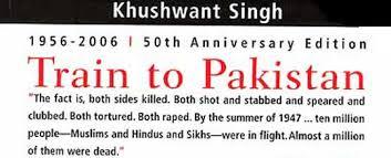 A  train to pakistan
