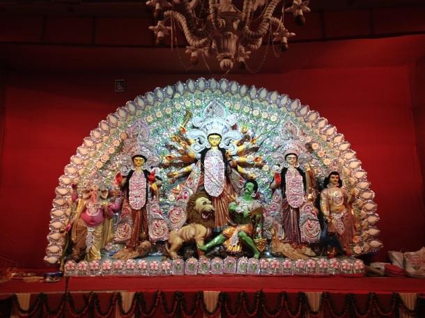 Durga Puja Pandal - Vaishali, Ghaziabad