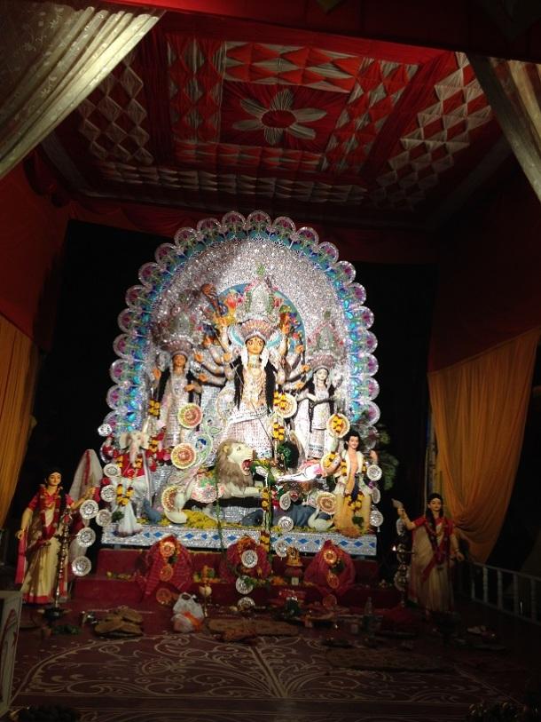 Durga Puja Pandal - Kashmiri Gate, Delhi