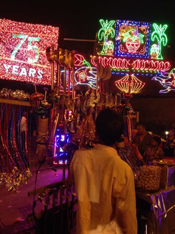 Durga Puja in Delhi - Mela at Minto Road