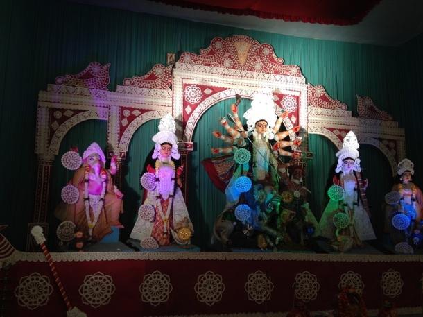 Durga Puja Pandal - Minto Road, New Delhi