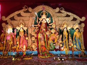 #APictureSaysAThousandWords : Durga Puja in Delhi…