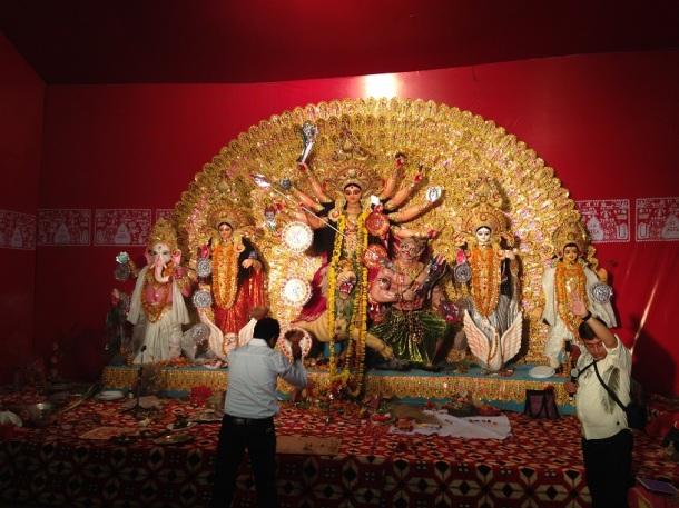Durga Puja Pandal - Indrapuram, Ghaziabad