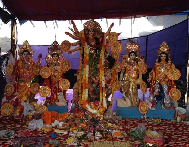 Durga Puja in Delhi - Vaishali, Ghaziabad