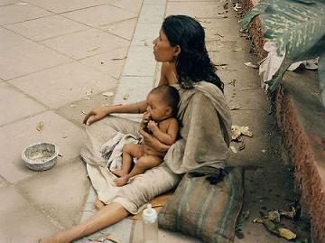 Begging in Delhi