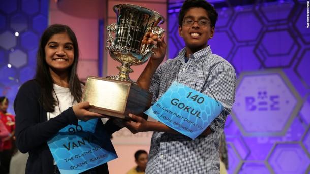 2015 spellingbee champions