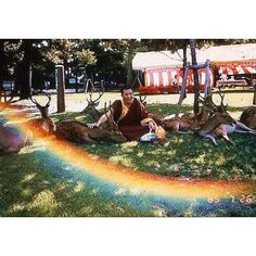 Rainbow and the Monk